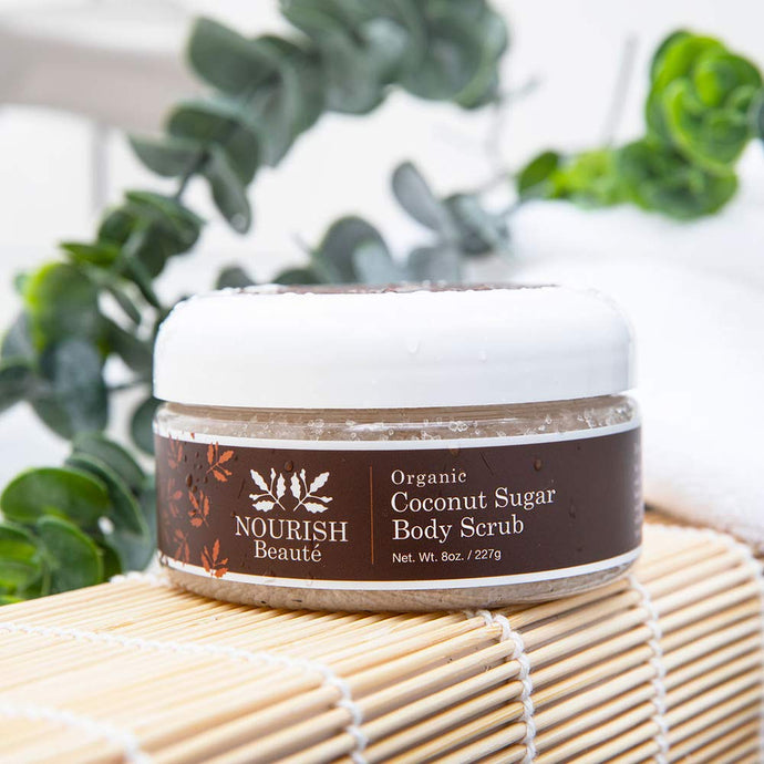 Organic Coconut Sugar Body Scrub