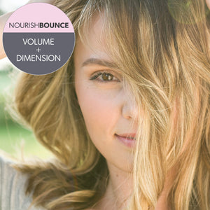NourishBOUNCE Volume + Dimension Hair Growth Conditioner