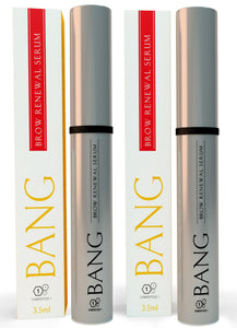 BANG Eyebrow Growth Serum Treatment 2 Pack