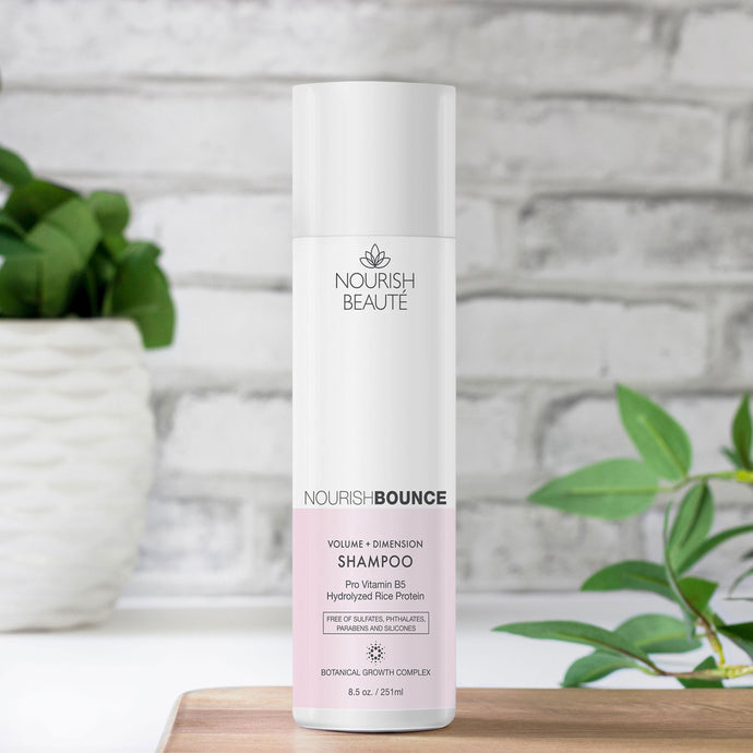 NourishBOUNCE Volume + Dimension Hair Growth Shampoo