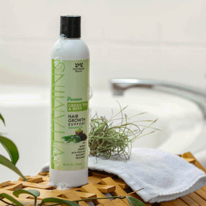 Premium Sulfate Free Shampoo Green Tea and Mint