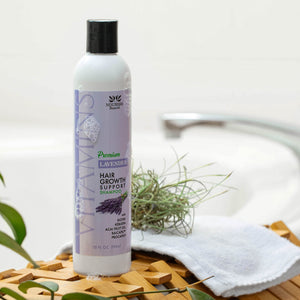 Premium Sulfate Free Hair Growth Support Shampoo - Lavender