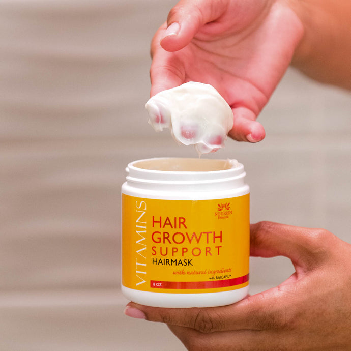 Vitamins Hair Growth Support Nourishing Mask