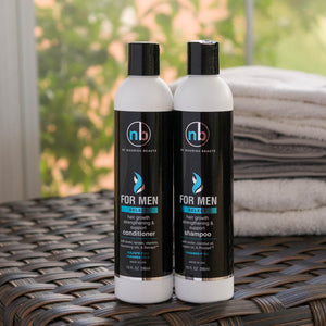 Men's Hair Growth Support Shampoo and Conditioner