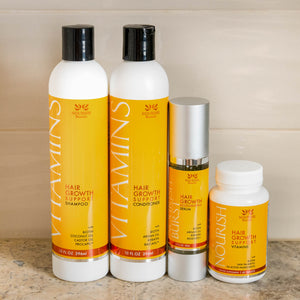 Vitamins Hair Growth Support System