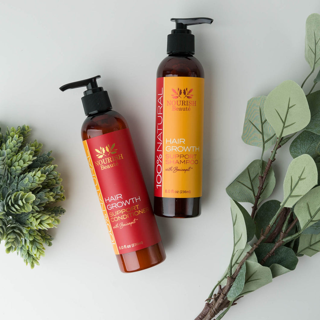 Natural Shampoo and Conditioner Combo