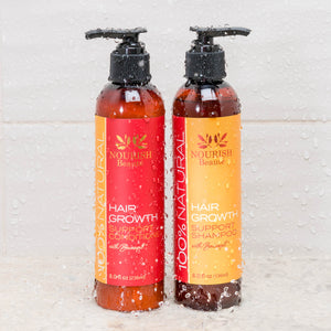 100% Natural Hair Growth Support shampoo and Conditioner combo with Baicapil