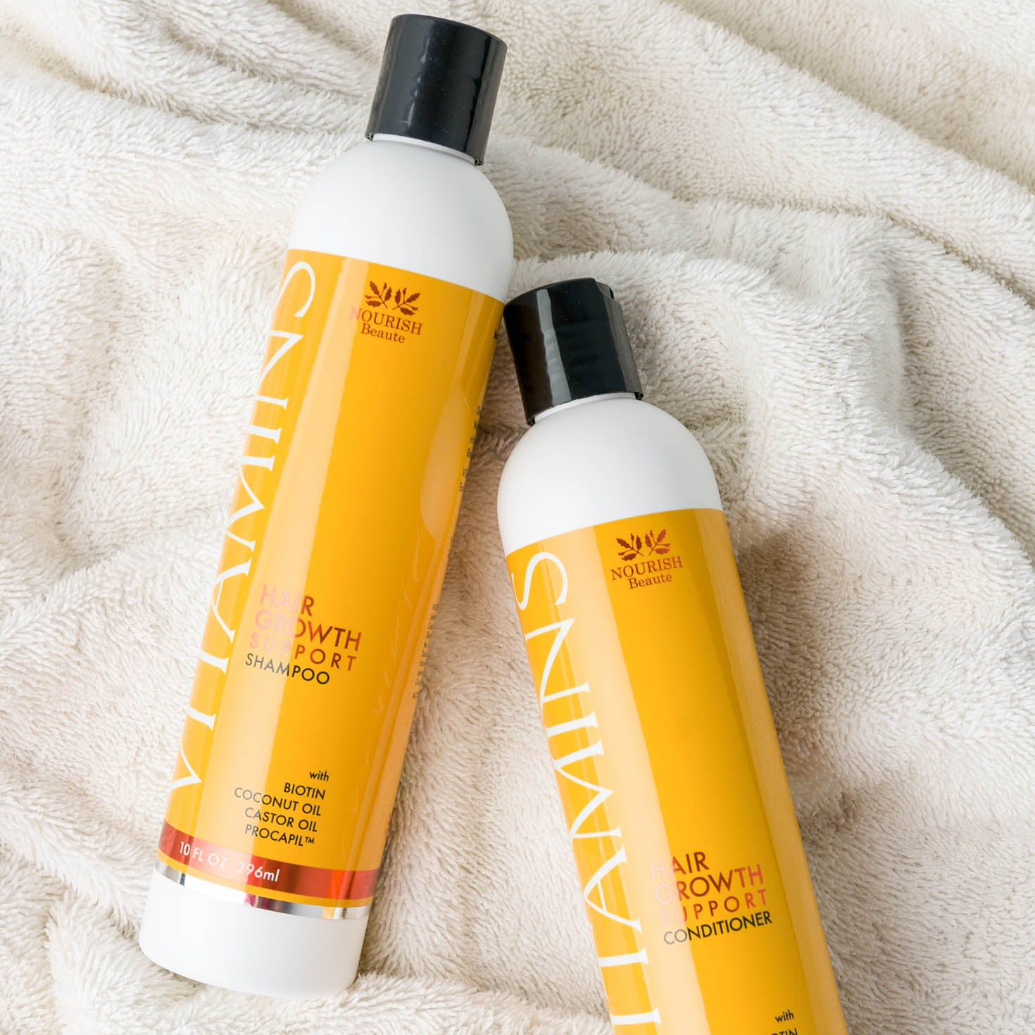 Vitamins Hair Growth Support Shampoo & Conditioner