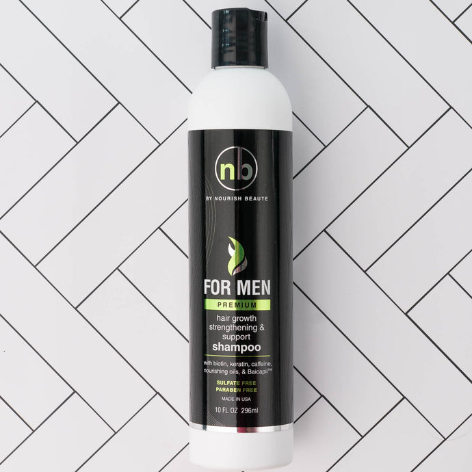 Men's Premium Hair Growth Support Shampoo