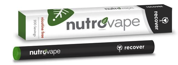 Nutrovape Introduces New Inhalable Hangover Recovery Aid