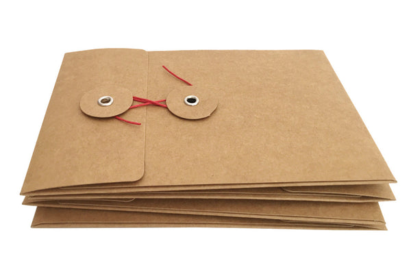 Button Envelope & Card