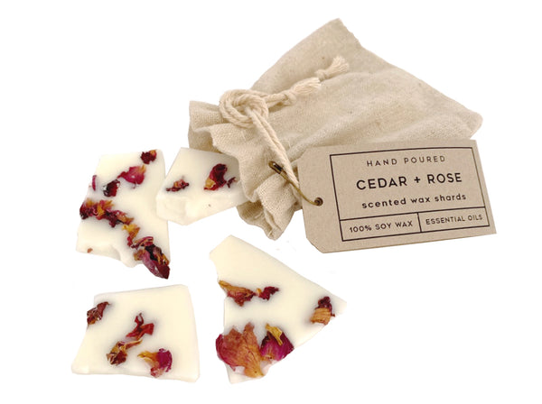 E & I Cedar & Rose Shards