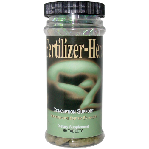 Fertilizer-Hers, 60 Tablets