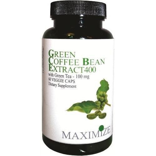 Green Coffee Bean Extract 400, 60 Veggie Caps