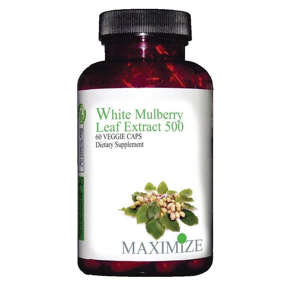 White Mulberry Leaf Extract 500, 60 Veggie Caps