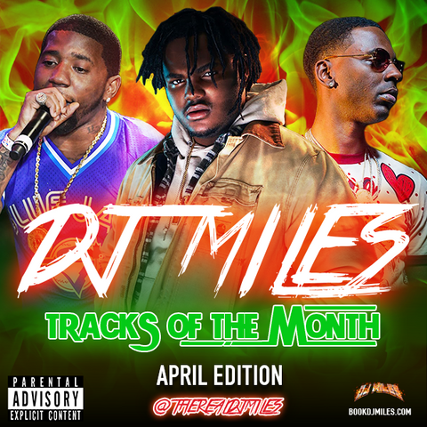 Tracks of the Month Mixtape Slot: April Edition
