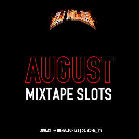 Tracks of the Month Mixtape Slot: August Edition