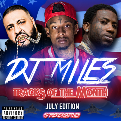 Tracks of the Month Mixtape Slot: July Edition
