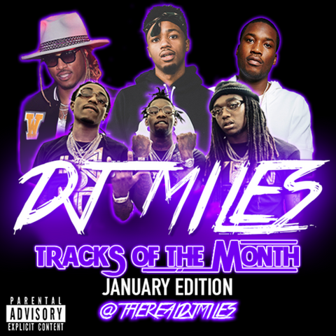 Tracks of the Month Mixtape Slot: January Edition