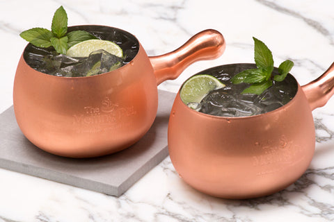 2 Copper Mule Mugs