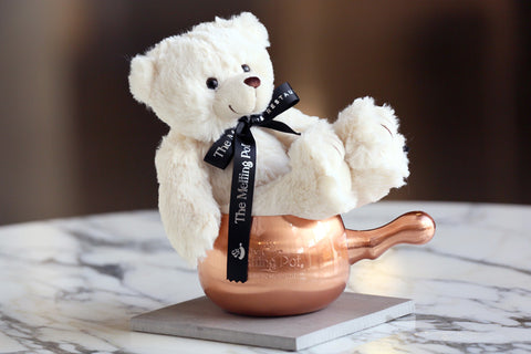 Bobby Bear Sitting on Copper Mule Mug