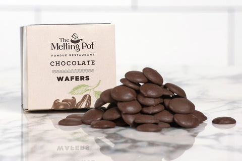 Milk Chocolate Wafers on Table