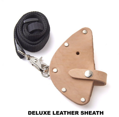 OGT  Deluxe Sheath Leather Sheath with Shoulder Strap and Belt Loop for Hammer Axe