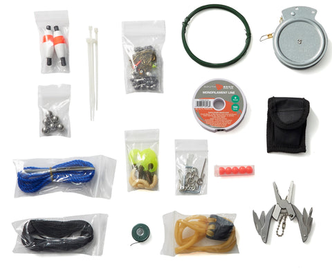OGT Fishing & Hunting - 127 Piece Fishing & Hunting Kit
