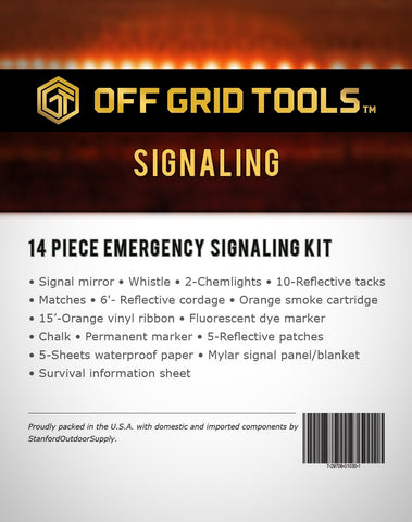 OGT Signaling - 14 Piece Emergency Signal Kit
