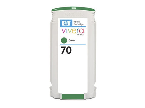 HP 70 130-ml Green Ink Cartridge (C9457A)