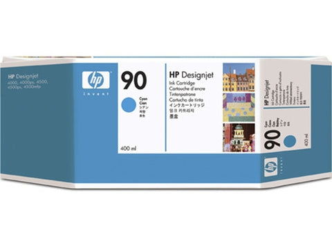 HP 90 400-ml Cyan Ink Cartridge (C5061A)