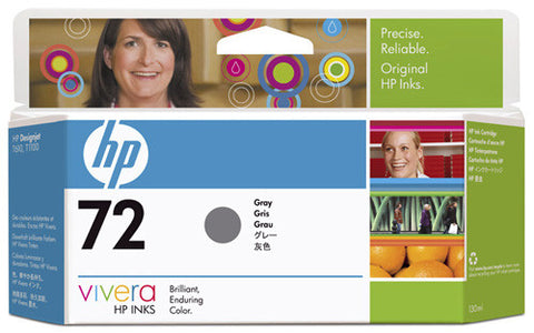 HP 72 130-ml Gray Ink Cartridge (C9374A)