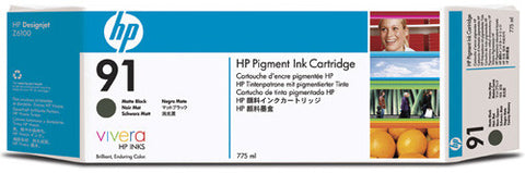 HP 91 Matte Black Ink Cartridge (C9464A)