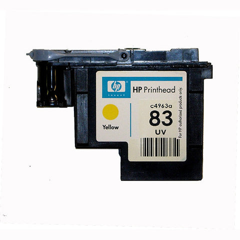 HP 83 Designjet 5000 5500 UV Yellow Print Head C4863A-R