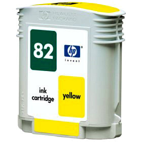 C4913A HP 82 Designjet 500 800 Yellow Ink