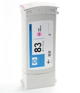 C4945A HP 83 Light Magenta Ink PARTIALLY USED OEM