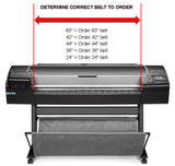 "HP DESIGNJET 430, 450C, 455CM, 488CA Belt Kit (E-size 36"")"
