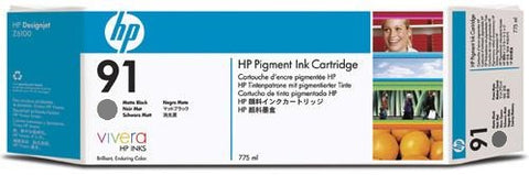HP 91 Light Gray Ink Cartridge (C9466A) PARTIALLY USED