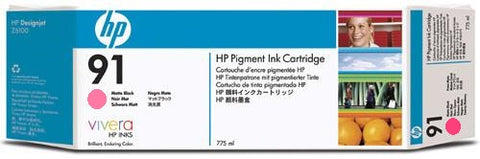 HP 91 Light Magenta Ink Cartridge (C9471A) PARTIALLY USED