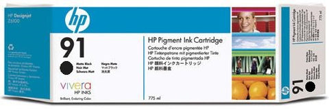 HP 91 Photo Black Ink Cartridge (C9465A) PARTIALLY USED