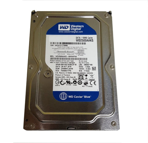 HDD with Firmware for HP DesignJet T7100 CQ105-67068