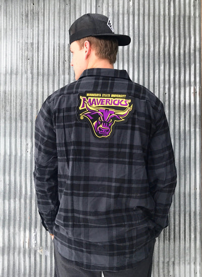 Minnesota State Mankato Flannel by Angry Minnow Vintage
