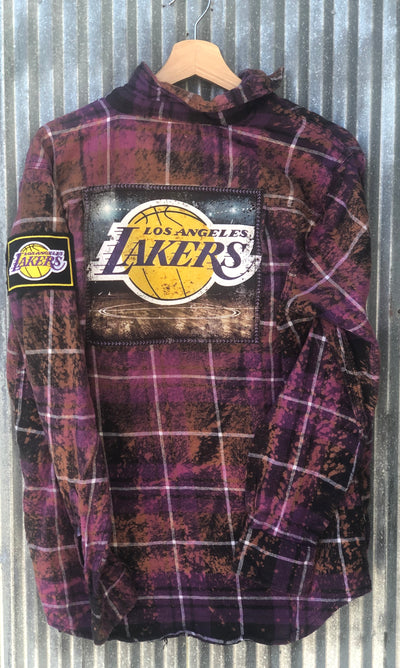 Los Angeles Lakers Flannels Angry Minnow Vintage Clothing Co.