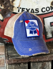 Pabst Blue Ribbon Vintage Hat