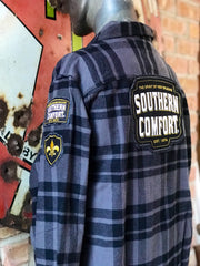 Southern Comfort Flannel- Classic Black Plaid