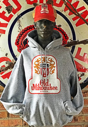 Old Milwaukee Hoodie- Heather Grey
