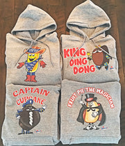 Hostess Brands Hoodies Angry Minnow Vintage
