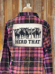Hancock Gas Flannel- Distressed Ember