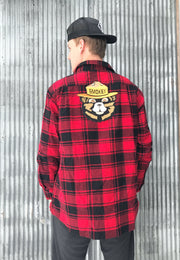 Smokey Bear Flannel Mens Clothing