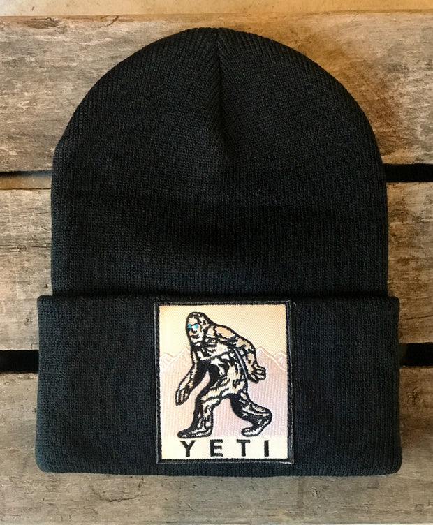 Yeti Stocking Hat- Black